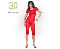 Bodyleggings Capri - kurzer Arm 100 DEN
