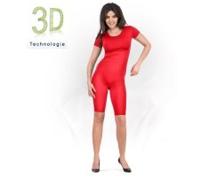 Bodyleggings Radler - Arm kurz 100 DEN
