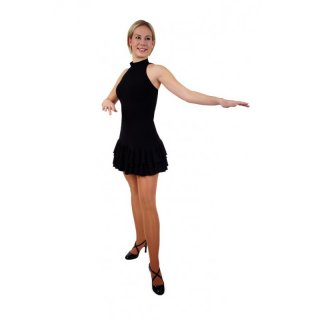Danceries Z35 Salsa Tanzkleid in schwarz