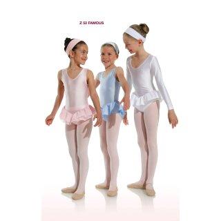 Danceries Z52 FAMOUS Ballettstrumpfhose mit Fuß rosa