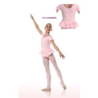 Danceries F05 Laurasson Ballett Trikot Baumwolle schwarz