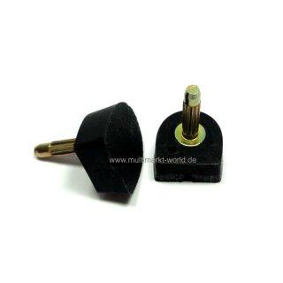 Absatzflecke Nueva Epoca NE7 Absatz 7 cm schwarz
