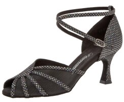 Diamant 020-087-183 Latein Glitzerschuhe 6,5 cm