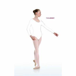 Danceries T03 LINDSEY Ballett Trikot Elasthan weiss