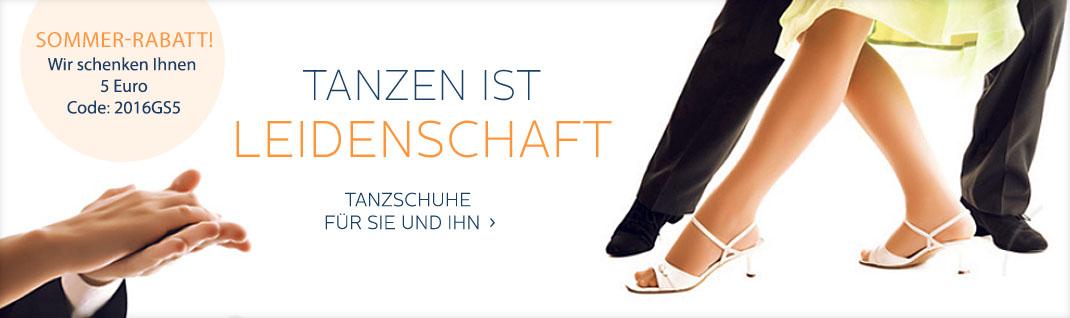 Tanzsport Schuhe und Kleidung