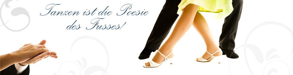 Schuhe und Kleidung für den Tanzsport